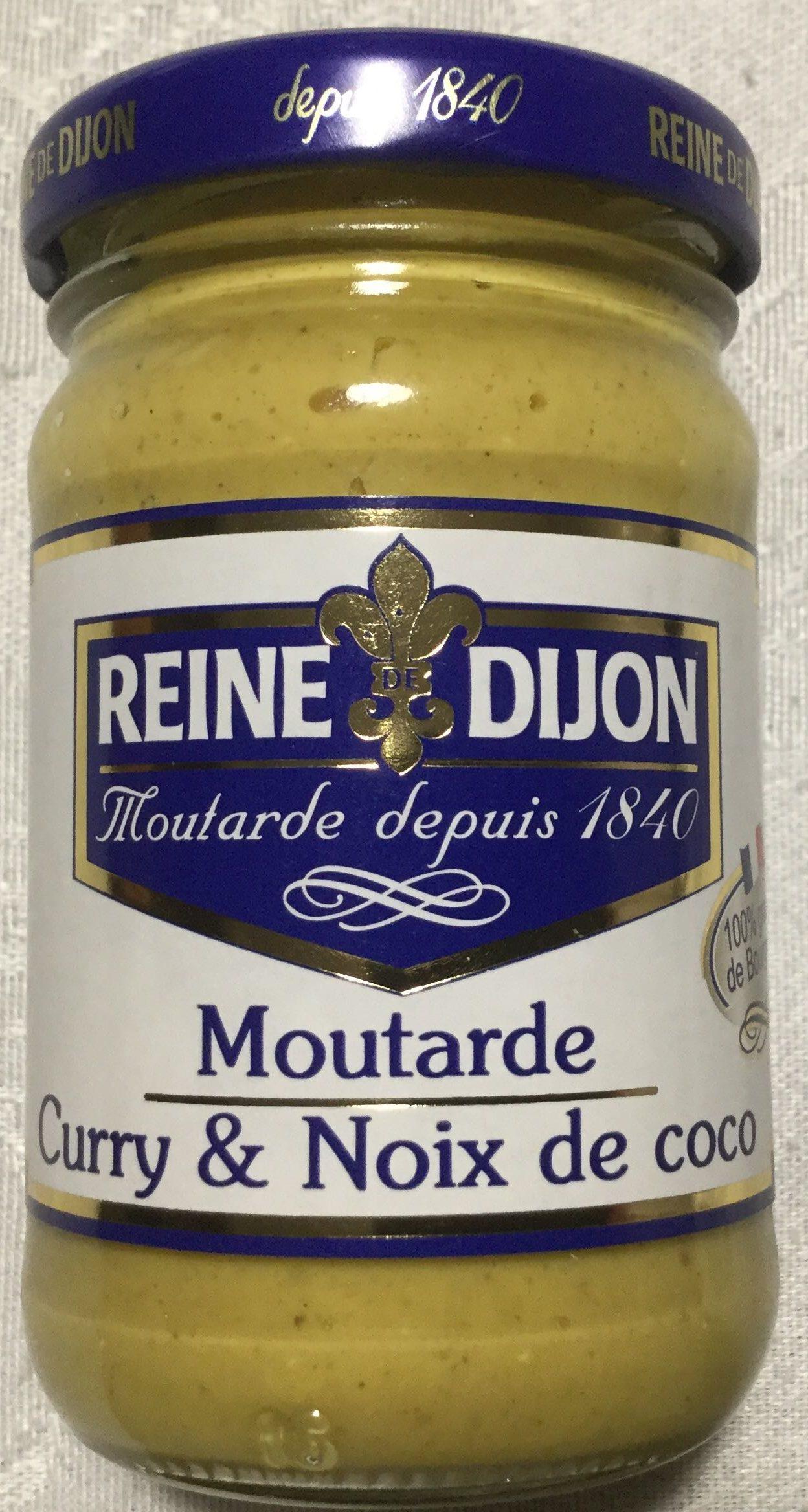 Moutarde Curry & Noix De Coco - Product