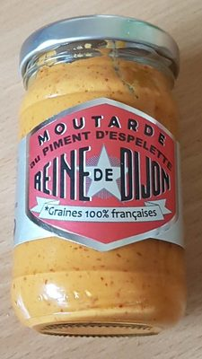 Moutarde au piment d'Espelette - Product