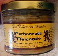 Carbonnade Flamande au Pain d'Épices et à la Bière - Produit