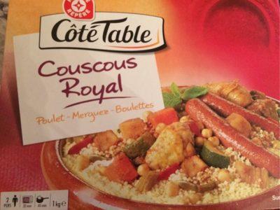 Couscous surgelé boite - Produit - fr