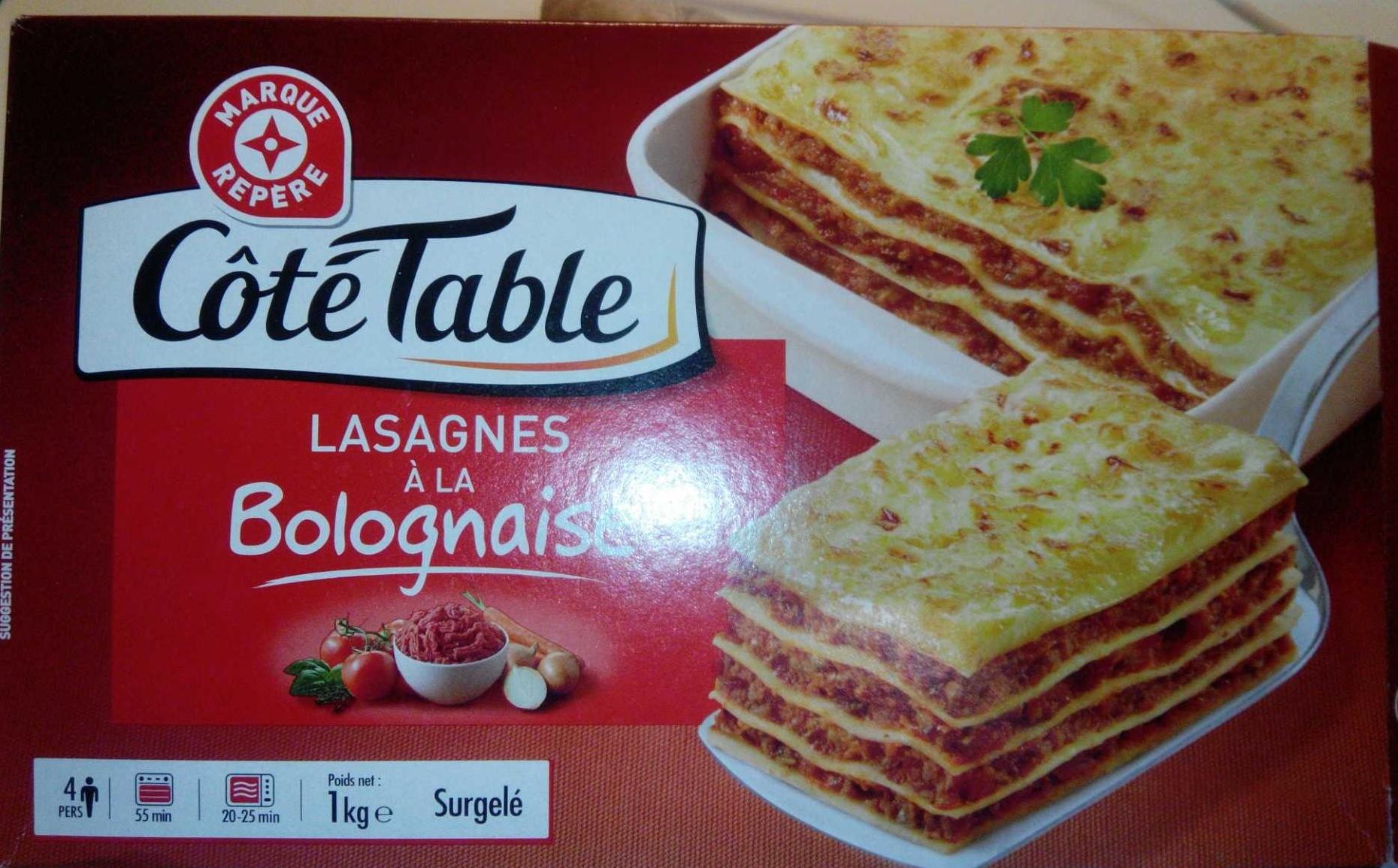 Lasagnes la bolognaise c t table 1 kg - Acide citrique leclerc ...