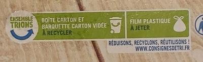 Lasagnes à la Bolognaise - Instruction de recyclage et/ou information d'emballage - fr