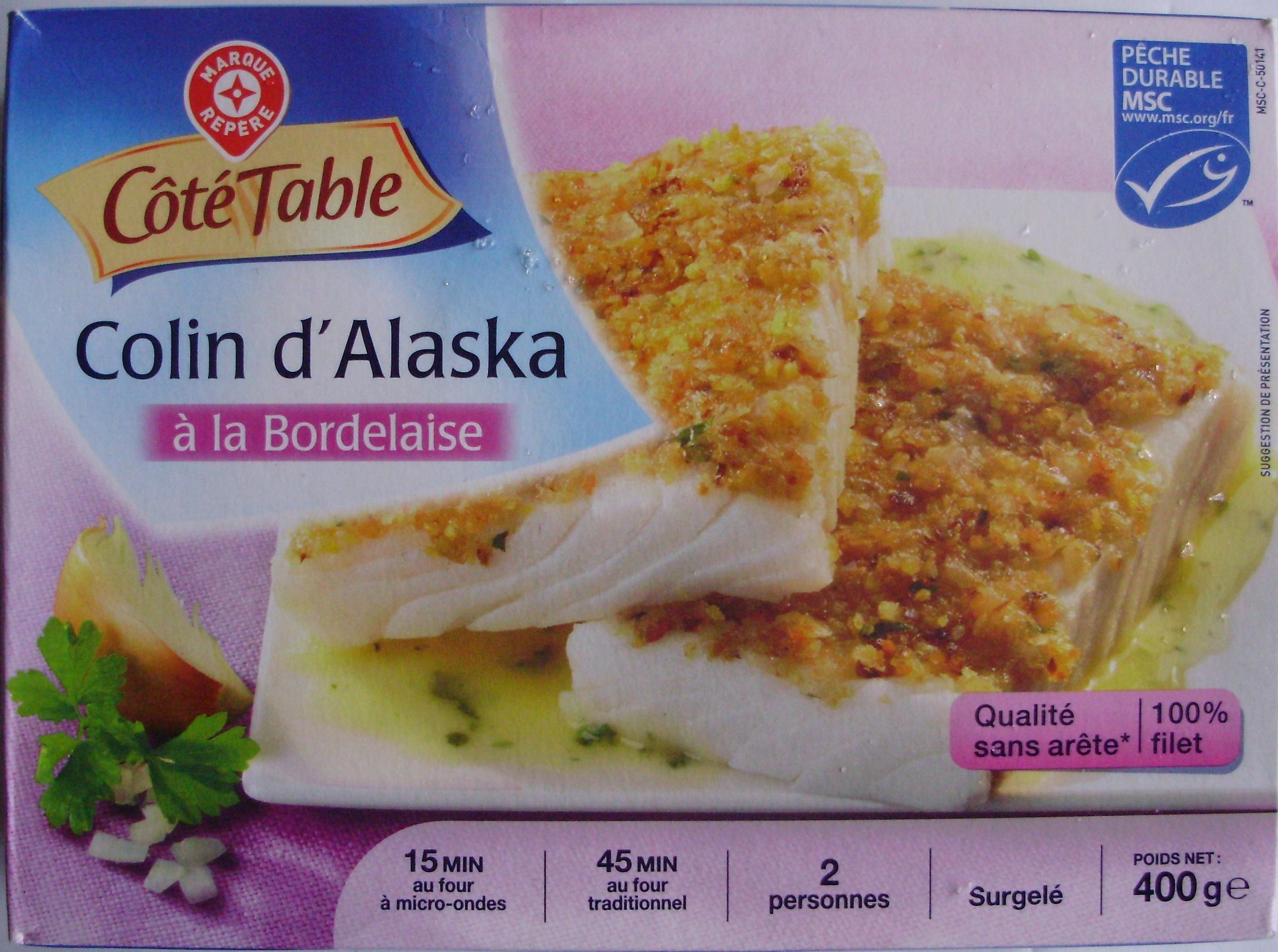 Colin d 39 alaska la bordelaise surgel 2 personnes - Cuisiner du colin surgele ...