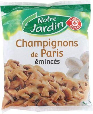 Champignons émincés surgelés - Prodotto - fr