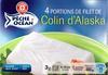 4 Portions de Filet de Colin d'Alaska, Surgelé - Product