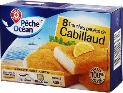 Tranches panées de Cabillaud x8 - Produit - fr