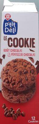 Cookies tout chocolat x12 - Produit - fr