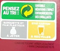 Cookies tout chocolat x12 - Instruction de recyclage et/ou informations d'emballage - fr