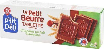 Petits beurres chocolat au lait aux noisettes - Produit - fr