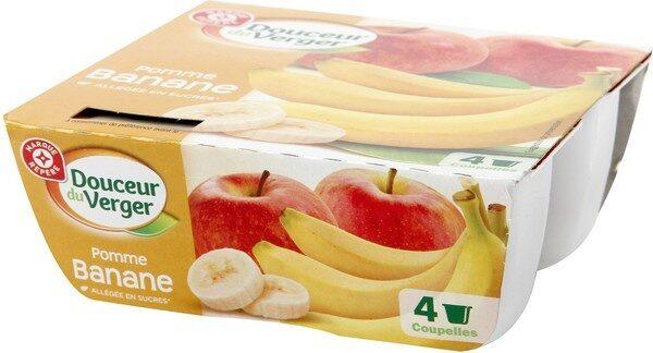 Compote pomme banane all 4*100g - Produit - fr