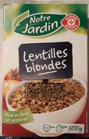 Lentilles blondes - Product