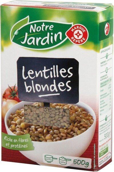 Lentilles blondes - Product
