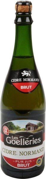 Cidre bouché normand brut 4,5 % - Product