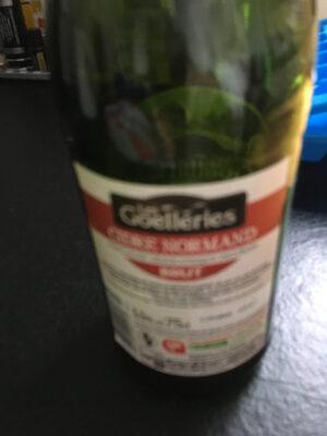 Cidre bouché normand brut 4,5 % - Ingredients