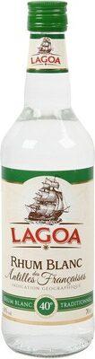 Rhum blanc des antilles 40% - Produit - fr