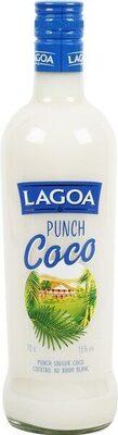 Punch coco 15° - Produit - fr