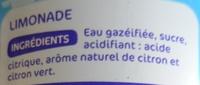 Jean's Limonade double zest - Ingrediënten