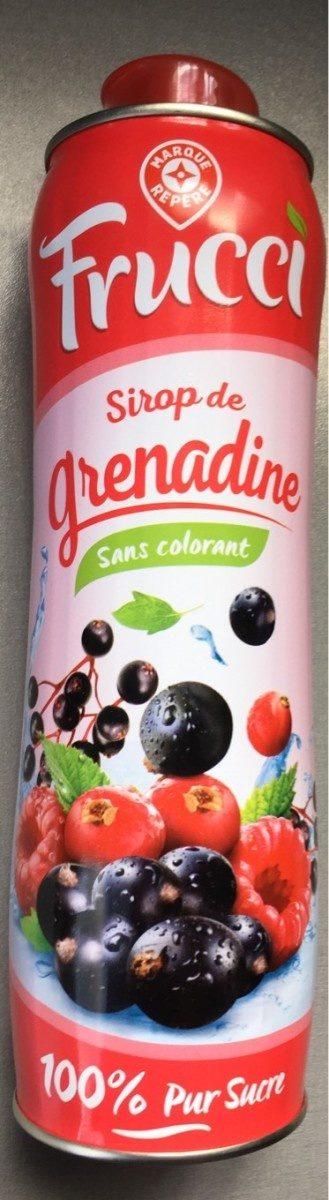 Sirop de grenadine pur sucre - Product