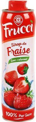 Sirop de fraise - Product - fr