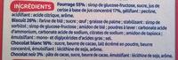 Génoises fourrées à la cerise nappées de chocolat blanc - Ingrédients - fr