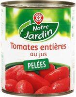 Tomates entières pelées au jus - Product