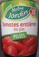 Tomates entières pelées au jus - Produit - fr