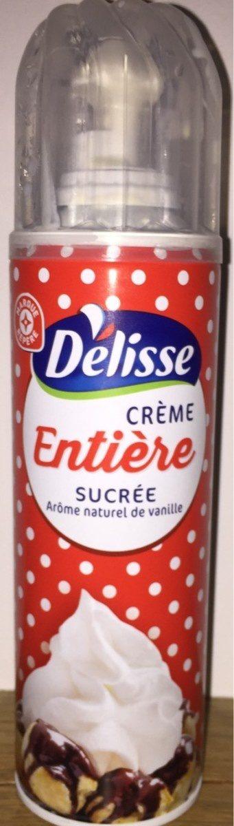 Crème Entière Sucrée Arôme Vanille - Producto