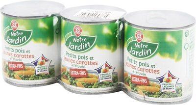 Petits pois carottes - Product - fr