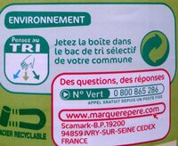 Macédoine de légumes - Recycling instructions and/or packaging information - fr