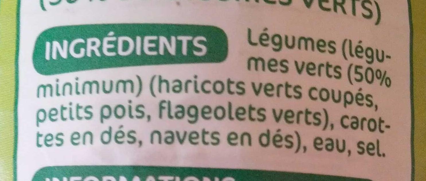 Macédoine de légumes - Ingredients - fr