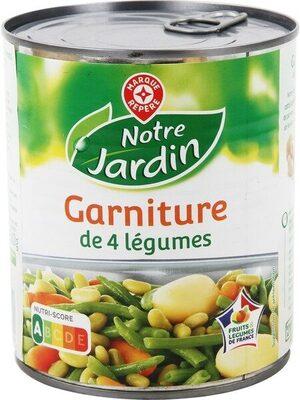 Jardinière de 4 légumes 4/4 - Produit - fr