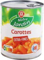 Jeunes carottes extra fines - Produit - fr