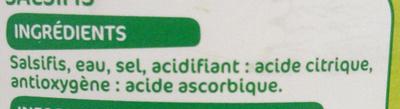 Salsifis 1/2 - Ingrediënten