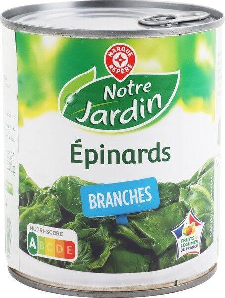 Epinards en branches 4/4 - Produit - fr