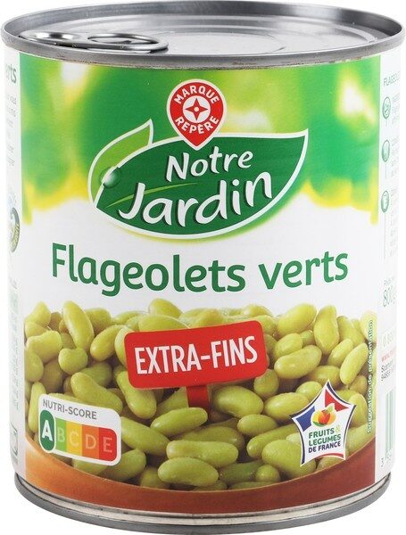 Flageolets verts extra fins 4/4 - Product - fr