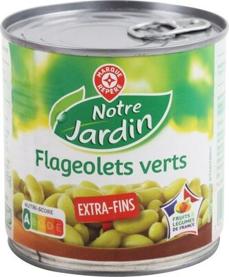 Flageolets verts extra fins 1/2 - Product