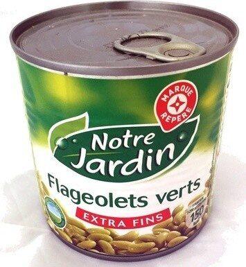 Flageolets verts extra fins 1/2 - Produit - fr