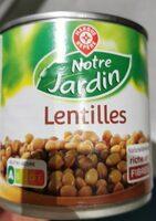 Lentilles préparées - Product - fr