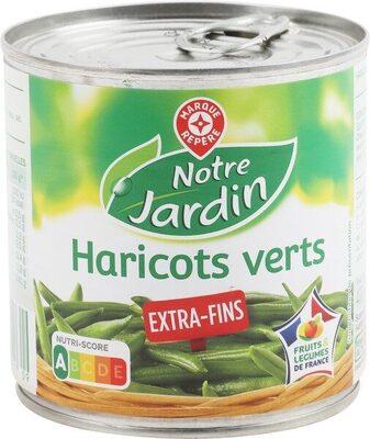 Haricots verts extra fins - Produit - fr