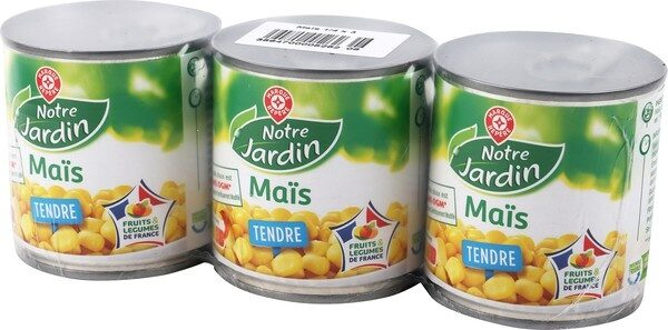 Maïs tendre - Product - fr