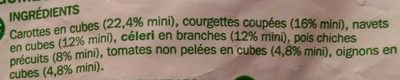 Légumes pour Couscous - Ingredienti