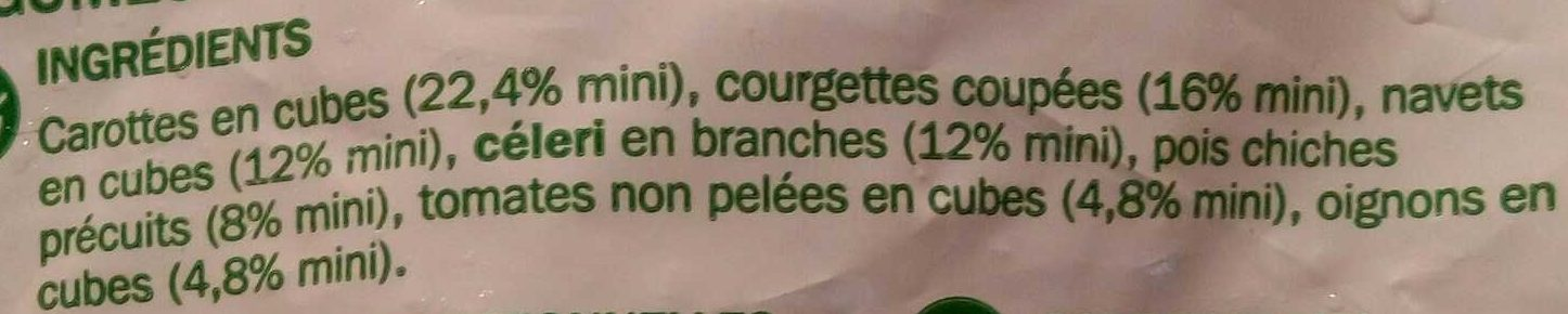 Légumes pour Couscous - Ingredienti - fr