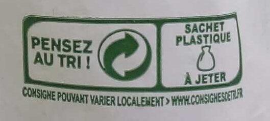 Epinards hâchés - Instruction de recyclage et/ou informations d'emballage - fr