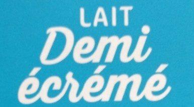 Lait 1/2 écremé unité - Ingrediënten - fr