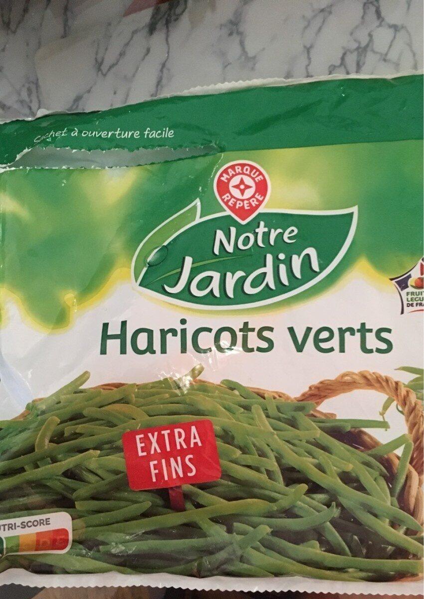 Haricots verts extra-fins surgelés - Produit - fr