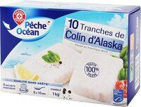 Filets de colin d'Alaska x10 - Produit - fr