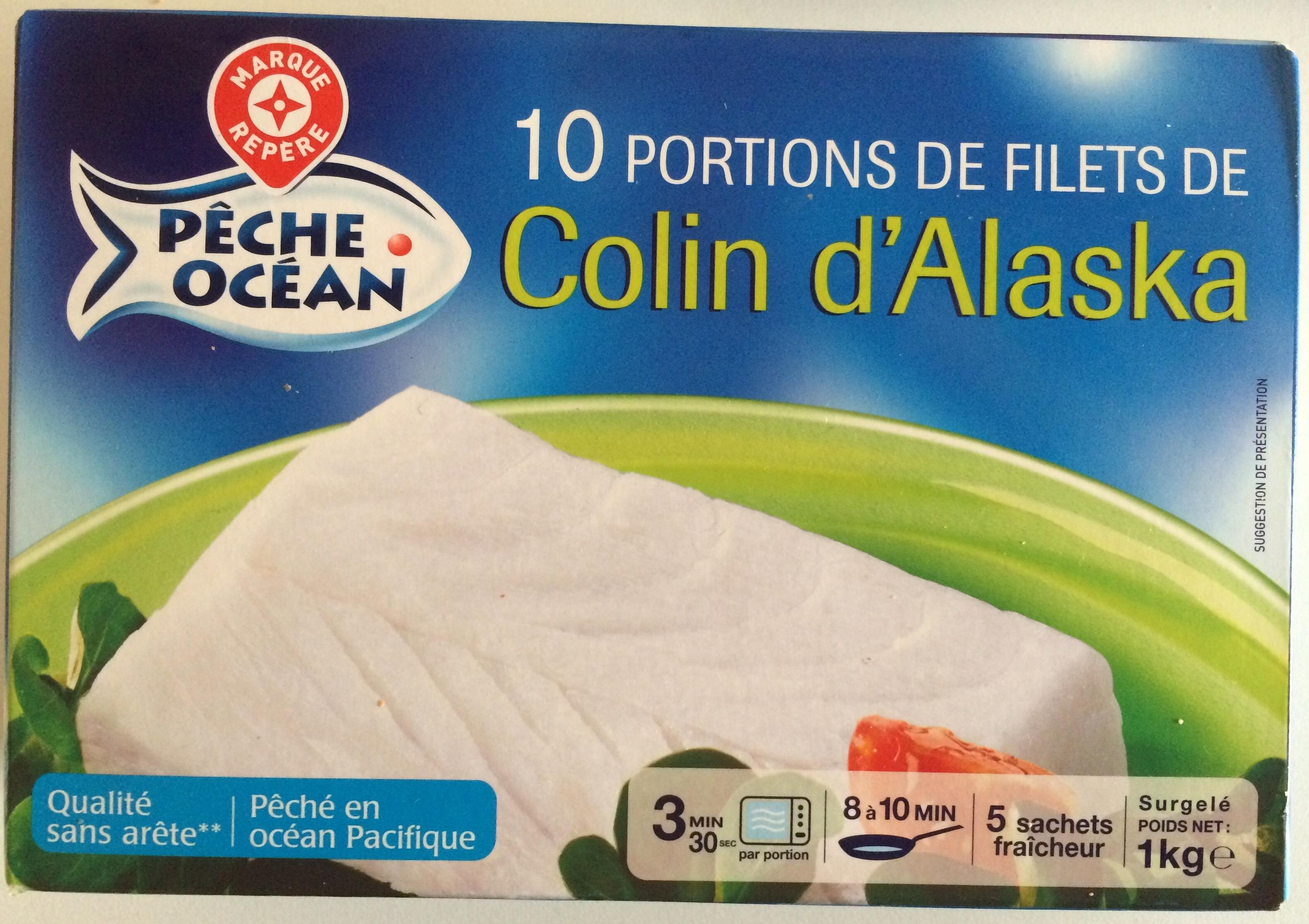 Colin d 39 alaska surgel p che oc an 1 kg - Cuisiner du colin surgele ...