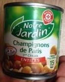 Champignons de Paris entier - Produit