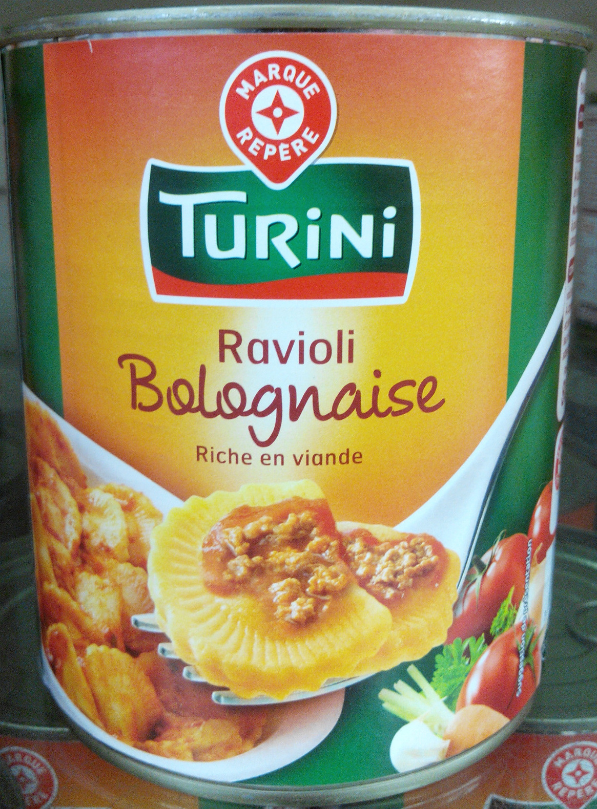 ravioli bolognaise riche en viande turini 800 g 850 ml. Black Bedroom Furniture Sets. Home Design Ideas
