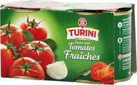 Sauce tomate nature x 2 - Produit - fr